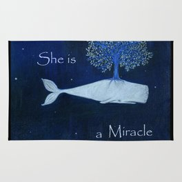 She is a miracle Rug