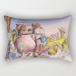 wild times Rectangular Pillow