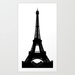 Parisian Effect  Art Print