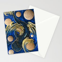 Celestial Whale Shark Stationery Cards
