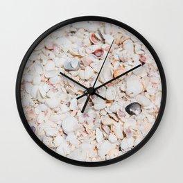 Seashells of Sanibel Wall Clock