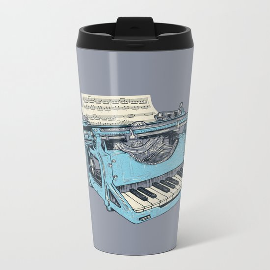 The Composition. Metal Travel Mug