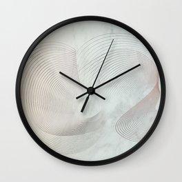 Luxury scandinavian marble minimal Wall Clock