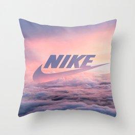 Just Do It (Cloud Edit) Throw Pillow
