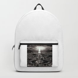 Vatican Rocking View Black and White Backpack