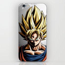 SSJ Goku Dragon Ball iPhone Skin