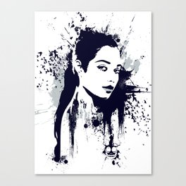 A Girl Canvas Print