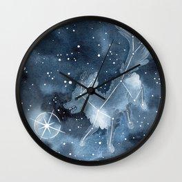 Star Dog Wall Clock