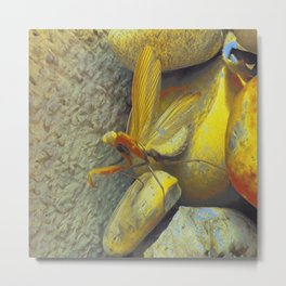 European Mantis IV Metal Print
