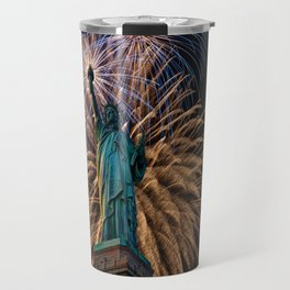 Liberty Fireworks Travel Mug