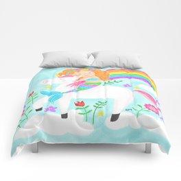 Unicorns, Mermaids & Rainbows...Oh My! Comforters