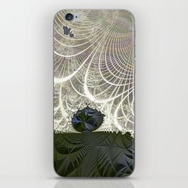 Defying the winds iPhone Skin