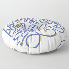 Drink Coffee Like a Gilmore Floor Pillow
