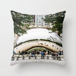 The Bean Throw Pillow