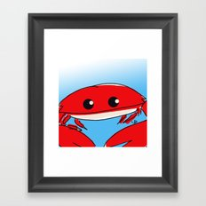 The Crabness Framed Art Print