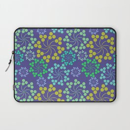 Fun Multicolored Whirligig Pattern Laptop Sleeve