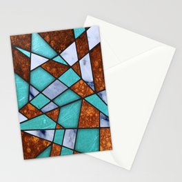 #477 Marble Shards & Copper Stationery Cards
