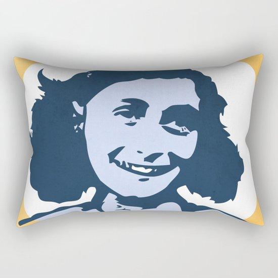 Anne Frank Rectangular Pillow