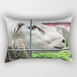 Silly Sly Sheep Rectangular Pillow