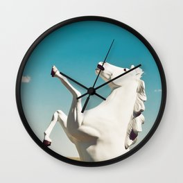 Guardian of the Plains Wall Clock