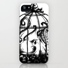 Cage the Cephalopod iPhone Case