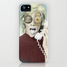 time goes by iPhone (5, 5s) Slim Case