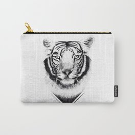 Confused Tiger Carry-All Pouch