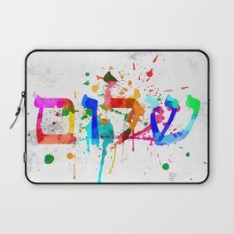 Shalom Hello Goodbye Laptop Sleeve