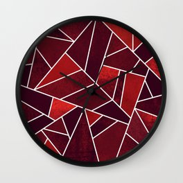Cozy Christmas Wall Clock