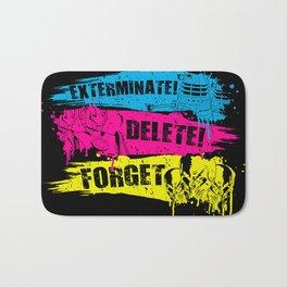 Exterminate! Delete! Forget.. Bath Mat