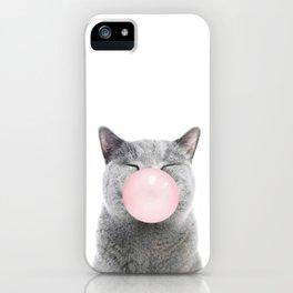 Cat Bubble iPhone Case