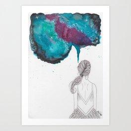 """""""A Creative Mind Never Sleeps"""" - Karla Leigh Wood Art Print"""
