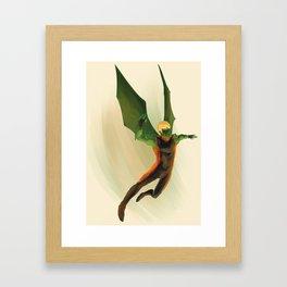 Hulkling Framed Art Print