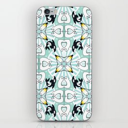 Kaleidoscopic Both Poles Animals iPhone Skin