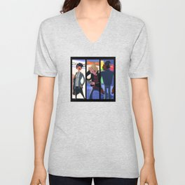 Here I Am Unisex V-Neck