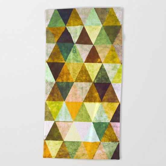 Abstract #388 Cailin Rua Beach Towel