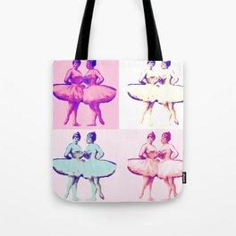 Ballet Pop Art Tote Bag