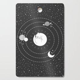 The Space Cat Cutting Board
