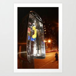 New York Phonebooth 5 Art Print