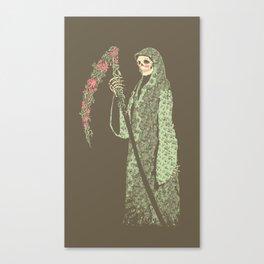 Grim Poetry Canvas Print
