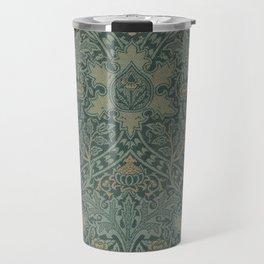 Ispahan by William Morris 1888 Antique Vintage Pattern CC0 Spring Summer Travel Mug