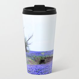 Lonely Tree & Bluebonnets Travel Mug