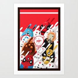 Marvel Art Print