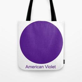 American Violet Tote Bag