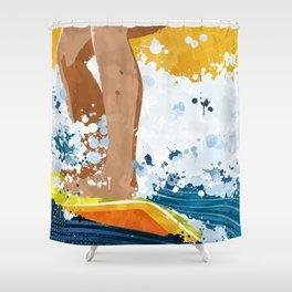 Surf! Shower Curtain