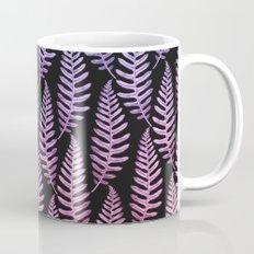 Multi Color Leaves (Black) Mug