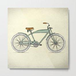 Retro-bicycles (1903) Metal Print