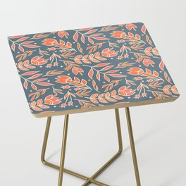Loquacious Floral Side Table