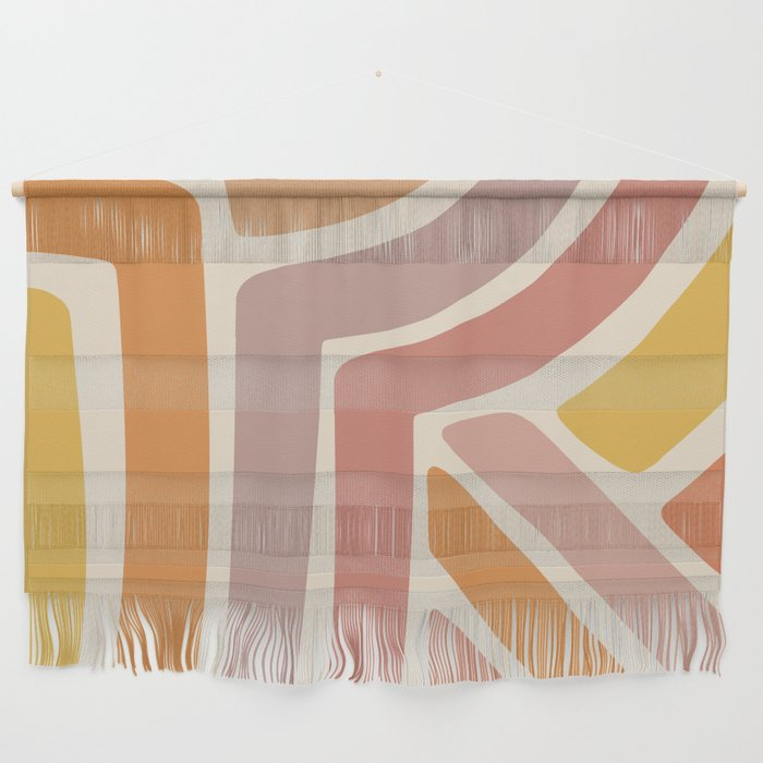 Abstract Stripes IV Wall Hanging
