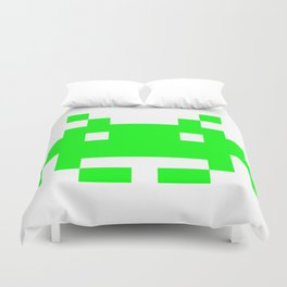 Invasion from the space Duvet Cover